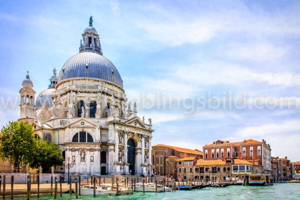Venedig Santa Maria della Salute Foto Leinwand, Acryl, Alu Dibond kaufen