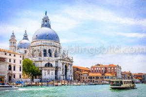 Santa Maria della Salute Venedig Leinwand, Acryl, Alu Dibond kaufen