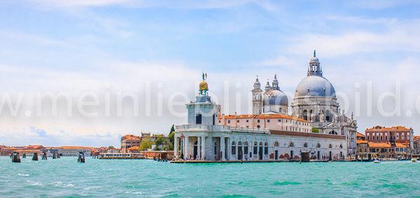 Santa Maria della Salute Venedig Leinwand, Acryl, Alu Dibond kaufen Panorama