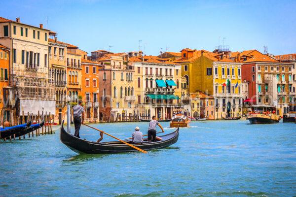 Canal Grande Venedig Acryl, Alu Dibond, Leinwand kaufen