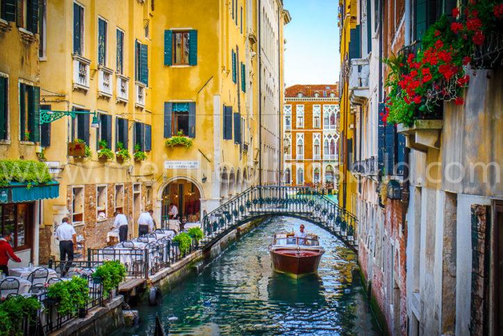 Acryl, Alu Dibond, Leinwand Foto Venedig