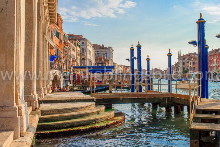 Acryl, Alu Dibond, Leinwand Foto Venedig Canal Grande