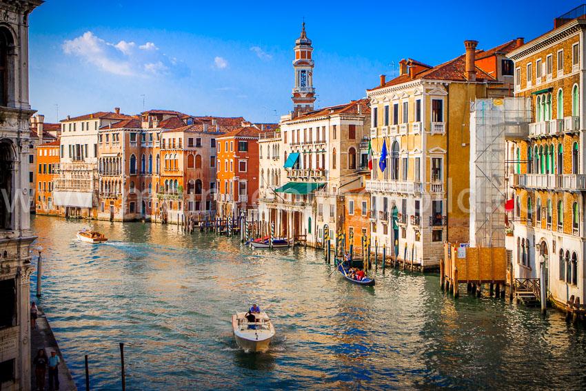 Canal Grande Venedig Acryl, Alu Dibond, Leinwand Foto Poster