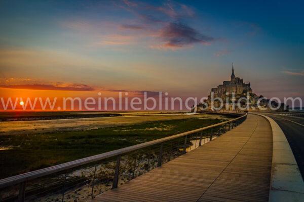 Fotos Mont Saint Michel kaufen