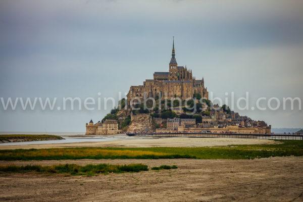 Mont Saint Michel Leinwand Foto Poster kaufen
