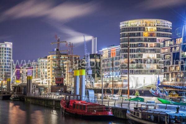 Hafencity Hamburg auf Leinwand kaufen