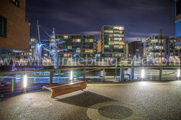 Hamburg Hafencity Leinwand kaufen