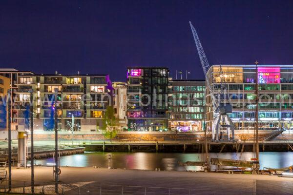 Leinwandbild Hafencity Hamburg